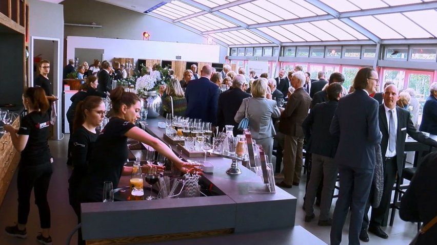 Empfang bei der Jubiläumsfeier der Capitell AG Vermögens-Management Hamburg