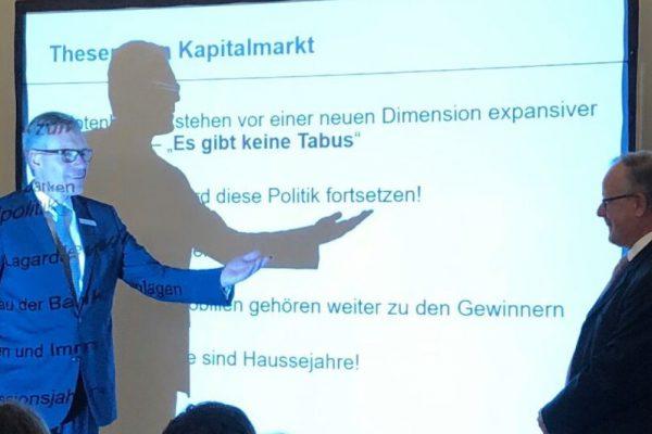 Eröffnungsveranstaltung der 6. Niederlassung der Capitell AG in Ulm am 12.11.2019