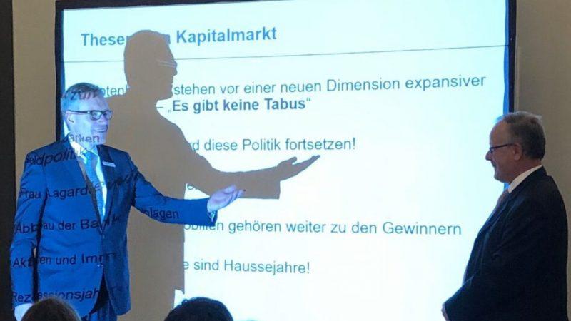 Eröffnungsveranstaltung Capitell Ulm mit Professor Webersinke
