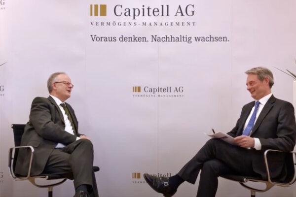 Der Capitell-Talk im Corona-Schock: Börsenchancen in der Rezession – CIO Mengel trifft Prof. Webersinke