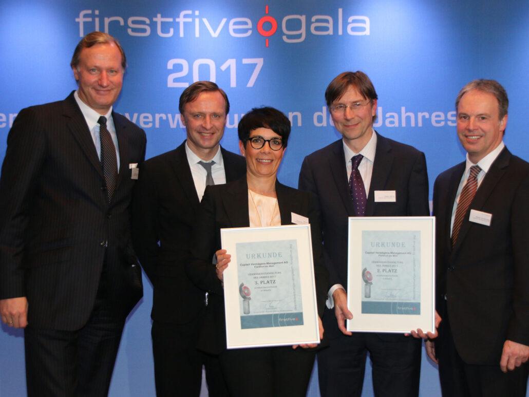 firstfive Gesamtsieger Capitell AG Vermögensverwaltung