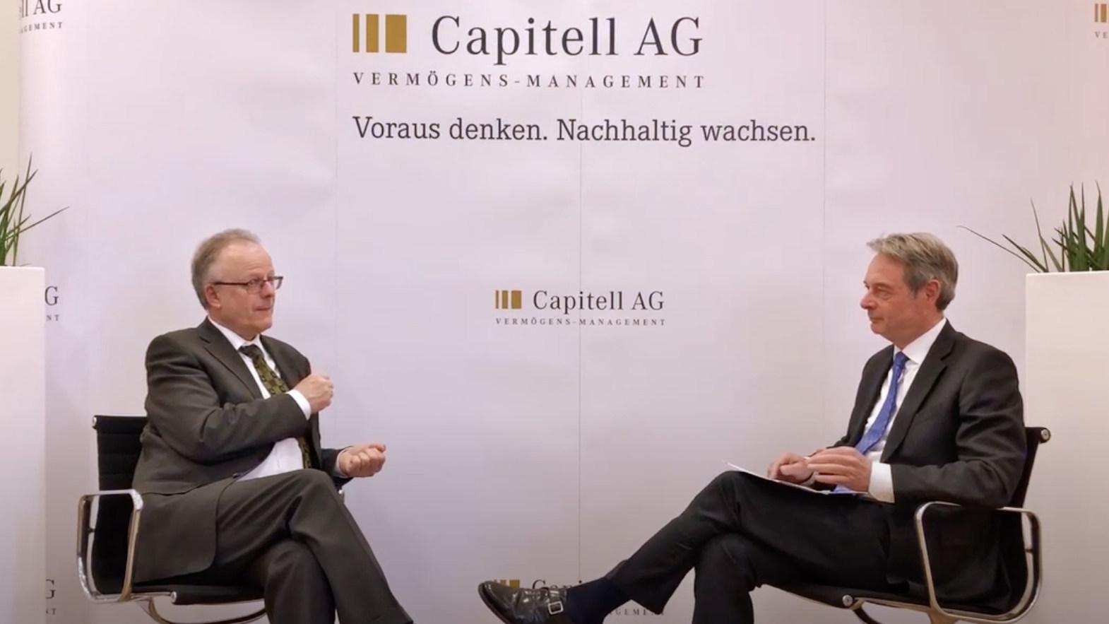 Capitell Talk mit Herrn Webersinke