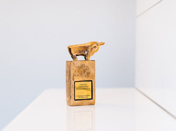 Goldener Bulle Auszeichnung der Capitell AG Vermögensverwaltung