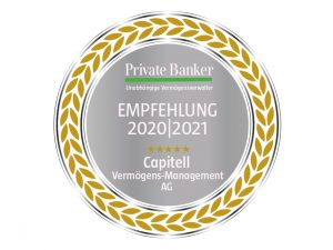 Private Banker Empfehlung Capitell AG 2020/2021