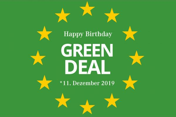 Happy Birthday European Green Deal