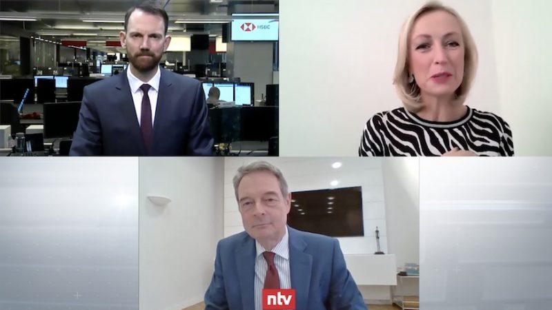 Unser CIO und Vorstand Karl-Heinrich Mengel erklärt im n-tv Zertifikate Talk mit Bianca Thomas von ntv Telebörse und Matthias Hüppe von HSBC Deutschland warum Gold ein taktisches Investment ist
