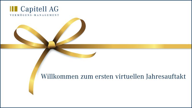 Erste virtuelle Jahresauftaktveranstaltung der Capitell AG