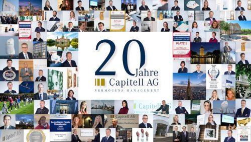 20 Jahre BaFin-Lizenz für die Capitell AG und ein Dank an alle, die dies möglich gemacht haben.