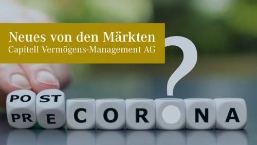 """Die Zeit """"nach Corona"""" und die globale Konjunkturentwicklung"""